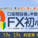 FX初心者が63%!初心者も使いやすいFXプライム
